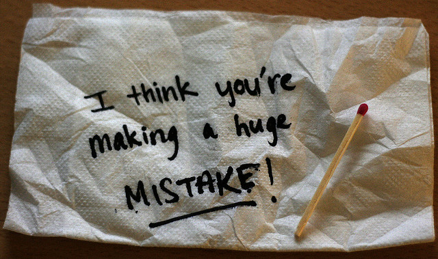 mistake note