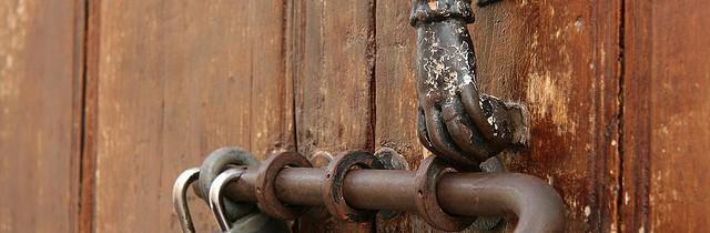 the locked