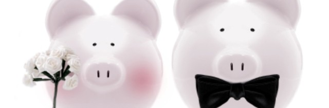 Piggy banks couple