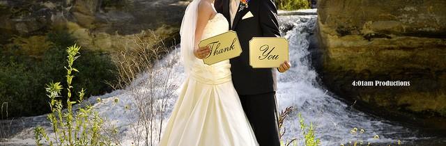 Wedding couple Thank you