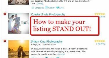 Bridal ad listings