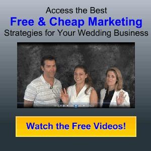 Free & Cheap Wedding Marketing Strategies