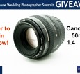 Canon 50mm 1.4 USM Giveaway