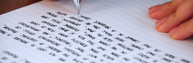 Writing note