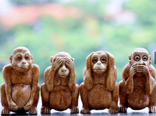 wise monkeys
