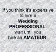 Hire a Wedding Professional