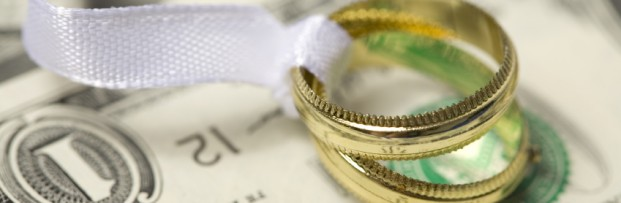 Wedding Rings on Cash