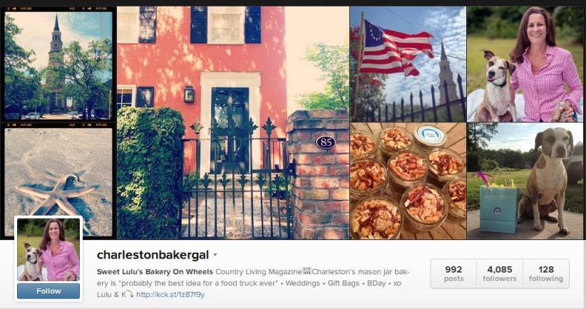 CharlestonBakerGal Instagram