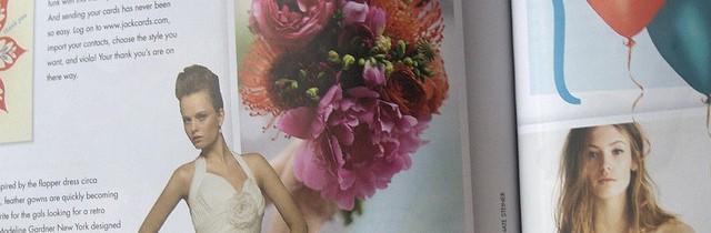 Wedding Magazine Spread