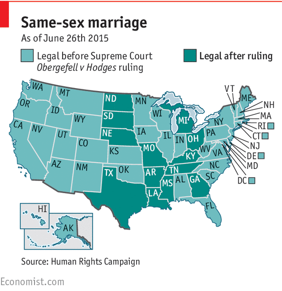 states recognizing same sex marriage