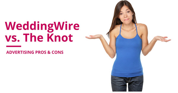 weddingwire vs the knot advertising