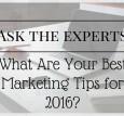2016 Marketing Tips