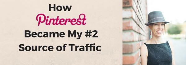 Pinterest #2 Traffic