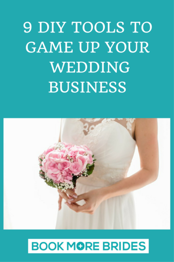 9 diy tools to game up your wedding business