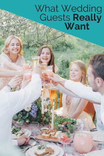 What Wedding Guests Want