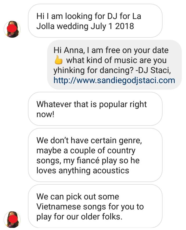 Instagram Lead Bride
