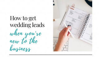 how to get wedding leads, new wedding pros, how to get wedding clients, how to get leads for wedding pros, Book More Brides, wedding business marketing, wedding business growth